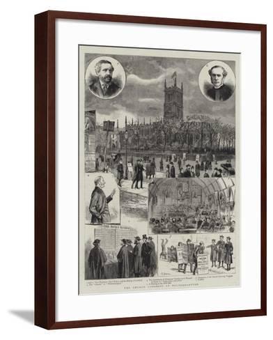 The Church Congress at Wolverhampton--Framed Art Print