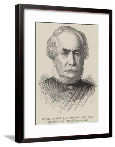 Major-General J T Boileau, Re, Frs--Framed Art Print