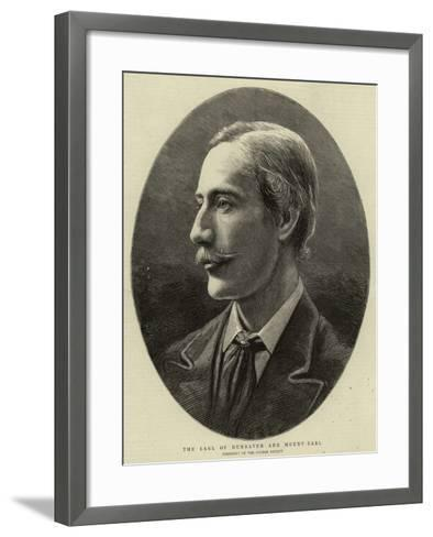 The Earl of Dunraven and Mount Earl--Framed Art Print