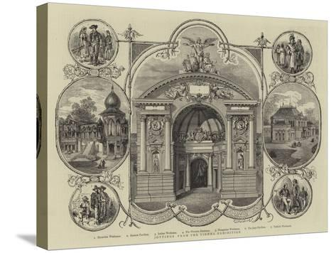 Jottings from the Vienna Exhibition--Stretched Canvas Print