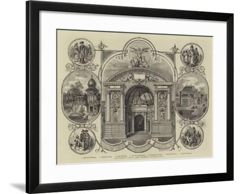 Jottings from the Vienna Exhibition--Framed Art Print