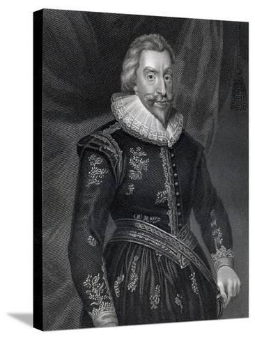 Portrait of Walter Aston (1584-1639)--Stretched Canvas Print