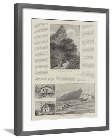 Law and Justice in Pitcairn Island--Framed Art Print