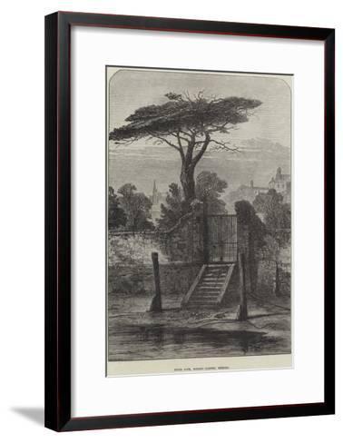 River Gate, Botanic Garden, Chelsea--Framed Art Print