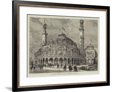 The People's Palace for East London--Framed Art Print