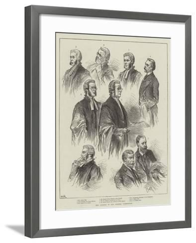 The Opening of the Parnell Commission--Framed Art Print