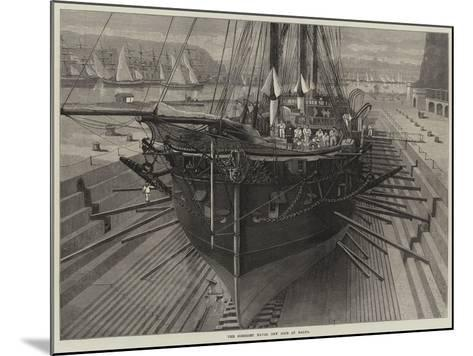 The Somerset Naval Dry Dock at Malta--Mounted Giclee Print