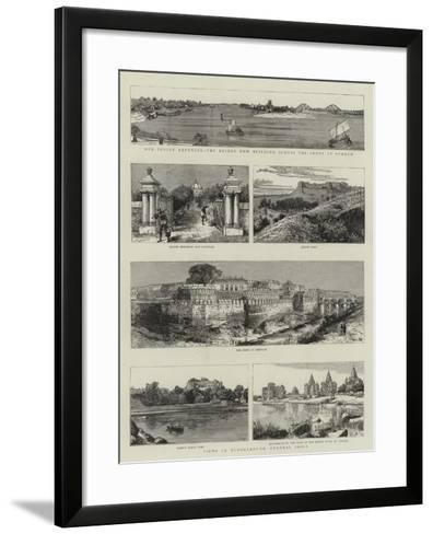Views in Bundelkhund, Central India--Framed Art Print