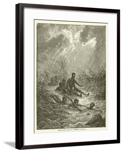The March Through Casembe's Country--Framed Art Print
