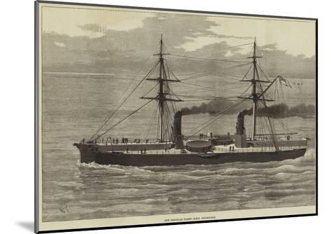 Our Ironclad Fleet, HMS Inflexible--Mounted Giclee Print