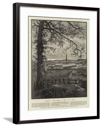 Advertisement, Joynson's Paper Mills--Framed Art Print