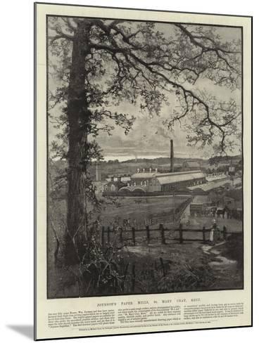 Advertisement, Joynson's Paper Mills--Mounted Giclee Print