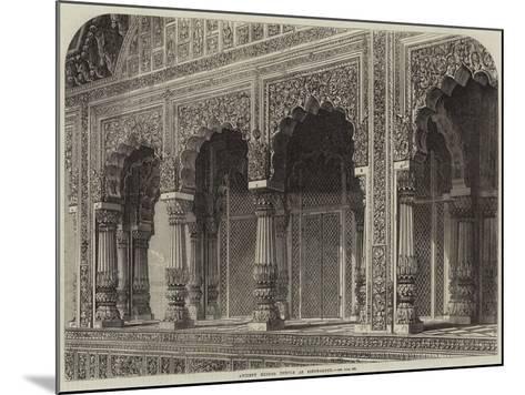 Ancient Hindoo Temple at Bindrabund--Mounted Giclee Print