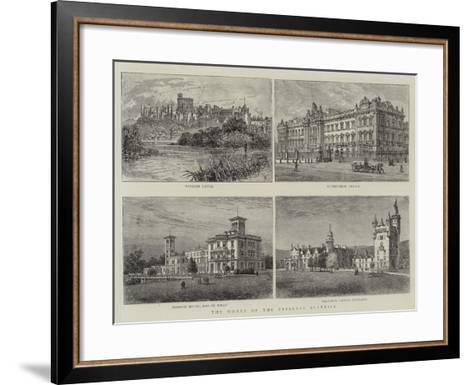 The Homes of the Princess Beatrice--Framed Art Print