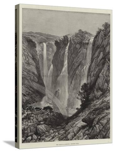 The Falls of Gairsoppa, Western India--Stretched Canvas Print