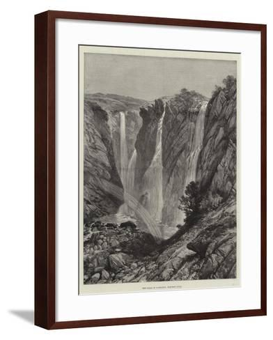 The Falls of Gairsoppa, Western India--Framed Art Print