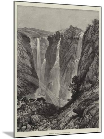 The Falls of Gairsoppa, Western India--Mounted Giclee Print