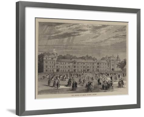 The Opening of Keble College, Oxford--Framed Art Print