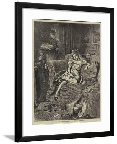 A Special Favourite of St Valentine--Framed Art Print