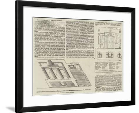 Farm Buildings at Liscard, Cheshire--Framed Art Print