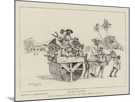 The Cricket Season in the West Indies--Mounted Giclee Print