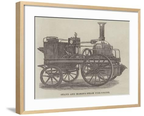 Shand and Mason's Steam Fire-Engine--Framed Art Print