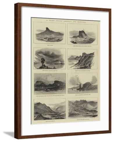 A Yacht Cruise Amongst the Hebrides--Framed Art Print