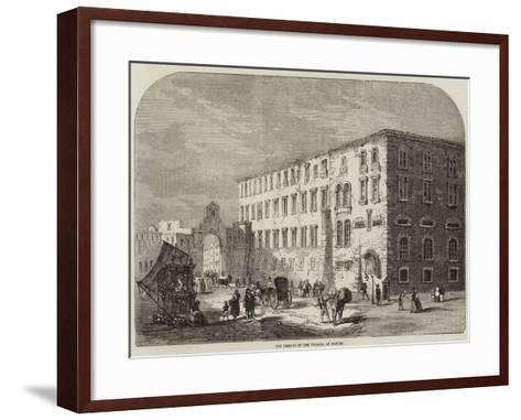 The Prisons of the Vicaria, at Naples--Framed Art Print