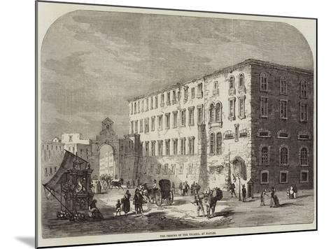 The Prisons of the Vicaria, at Naples--Mounted Giclee Print