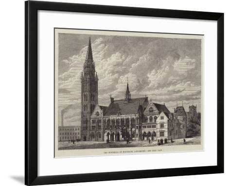 The Townhall of Rochdale, Lancashire--Framed Art Print