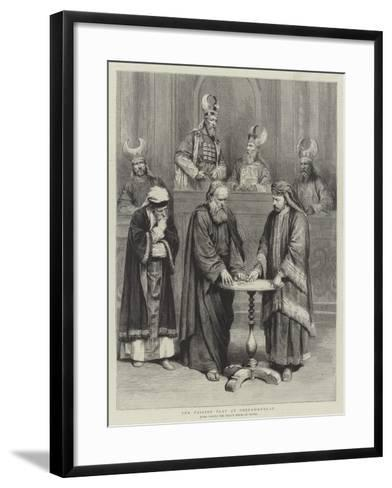 The Passion Play at Oberammergau--Framed Art Print