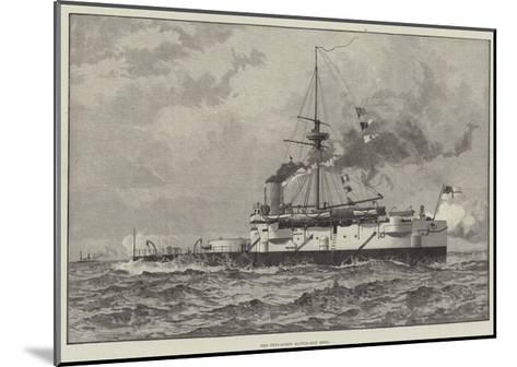 The Twin-Screw Battle-Ship Hero--Mounted Giclee Print