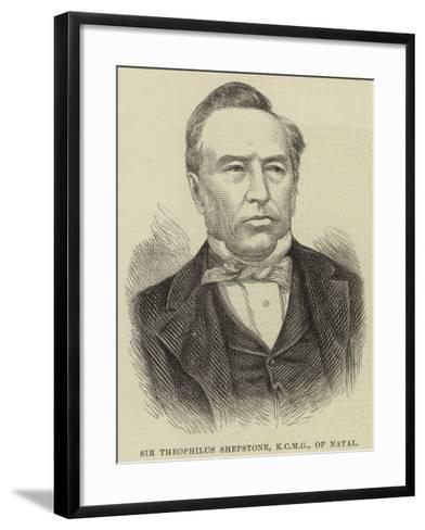 Sir Theophilus Shepstone, of Natal--Framed Art Print