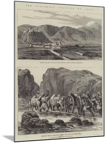 The North-West Frontier of India--Mounted Giclee Print