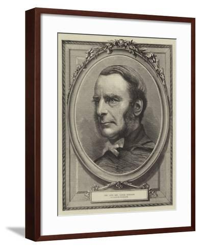The Late Reverend Canon Kingsley--Framed Art Print