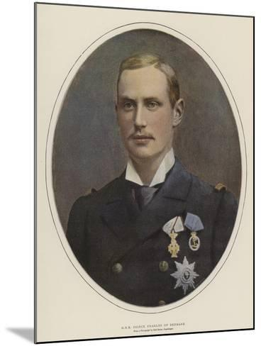 H R H Prince Charles of Denmark--Mounted Giclee Print