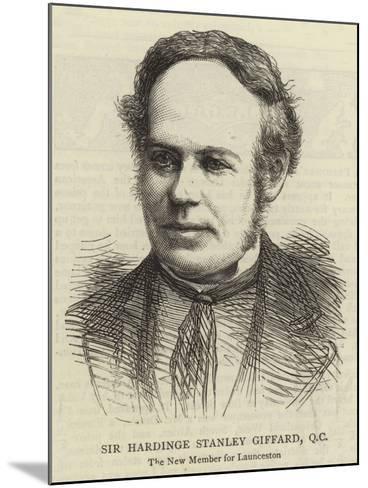 Sir Hardinge Stanley Giffard, QC--Mounted Giclee Print