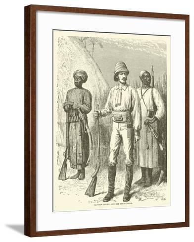 Captain Speke and His Body-Guard--Framed Art Print