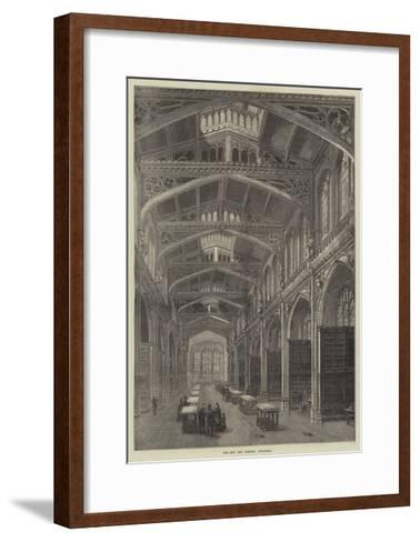 The New City Library, Guildhall--Framed Art Print