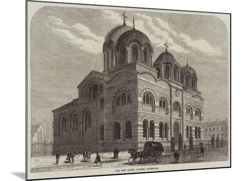 The New Greek Church, Liverpool--Mounted Giclee Print