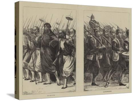 Irregulars of the French Troops--Stretched Canvas Print