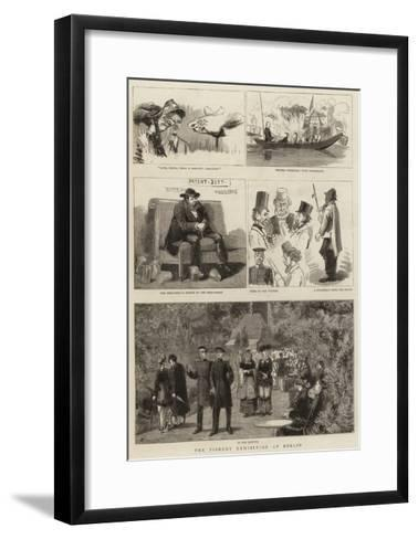The Fishery Exhibition at Berlin--Framed Art Print