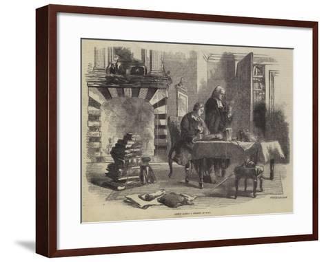 Prince Albert a Student at Bonn--Framed Art Print