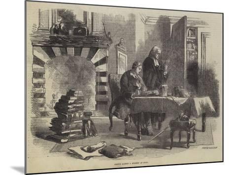 Prince Albert a Student at Bonn--Mounted Giclee Print