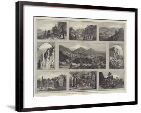 Baden-Baden and its Neighbourhood--Framed Art Print