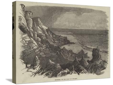 Boobjerg, on the Coast of Jutland--Stretched Canvas Print