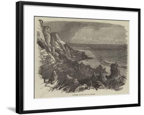 Boobjerg, on the Coast of Jutland--Framed Art Print
