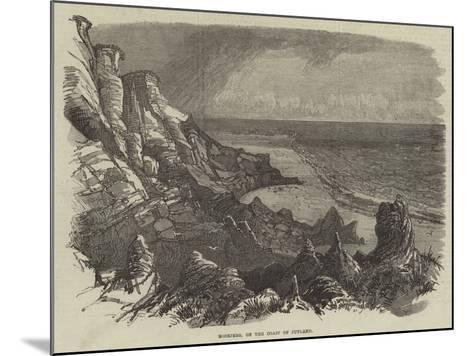 Boobjerg, on the Coast of Jutland--Mounted Giclee Print