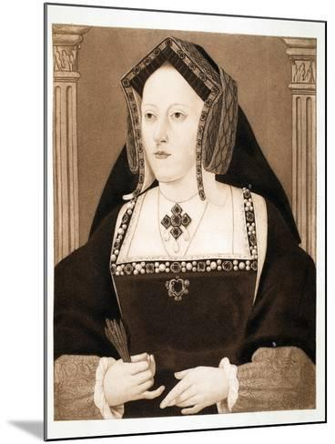 Catherine of Aragon, Pub. 1902--Mounted Giclee Print