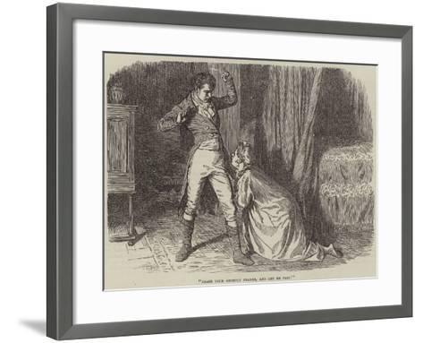 Christmas Eve at Lonethorpe Manor--Framed Art Print